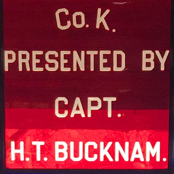 Captain Hamlin T. Bucknam, Minot, ME